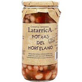 Latarrica Potxas hortelano Frasco 400 g