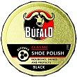 limpia calzado crema negro  lata 50 ml Bufalo