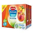 Néctar de melocotón sin azúcares añadidos Pack 6 briks 200 ml Juver Disfruta