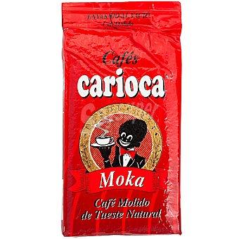 Carioca Cafe natural molido envasado al vacio Paquete 250 g