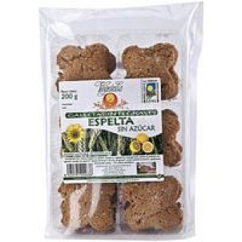 VEGETALIA Galletas Espelta s/azucar 200gr