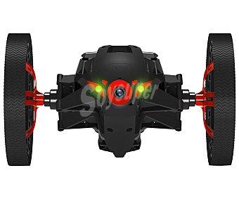 PARROT JUMPING SUMO Drones Negro, uso interior y exterior, pilotaje a traves de dispositivo móvil con grabación y streaming de video en vivo, hasta 7 km/h de velocidad, salto de hasta 80 cm, conexión con Wi-Fi. 1 Unidad