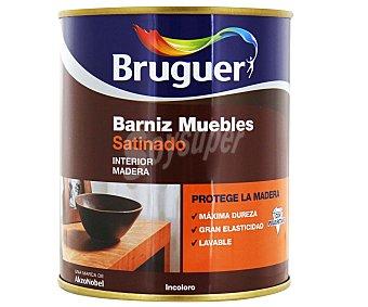 BRUGUER Barniz para Muebles, Incoloro, Acabado Satinado 0,75 Litros