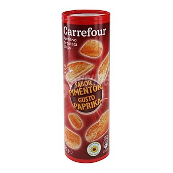 Carrefour Patata chips paprika 170 g