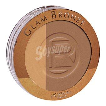 L'Oréal Polvos Glam bronze pdre duo 102 hamonie 1 ud
