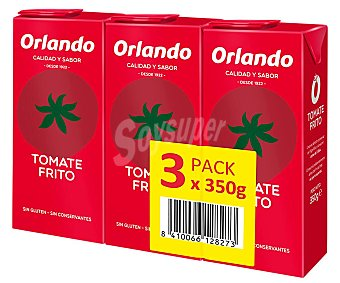 Orlando Tomate frito Pack 3 uds. x 350 g