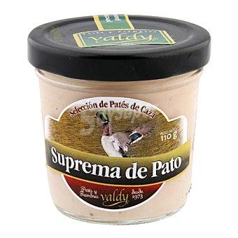 Valdycomer Suprema de pato tarro de cristal 110 g