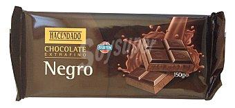Hacendado Chocolate negro extrafino Tableta 150 g