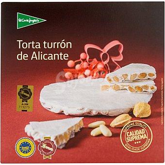 El Corte Inglés Torta turrón de Alicante Estuche 200 g