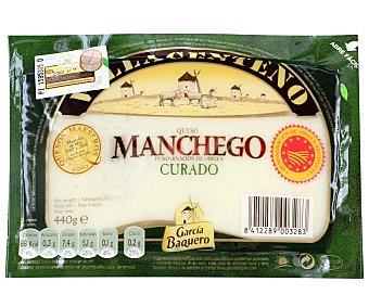 García Baquero Queso curado de oveja con denominaicón de origen La Mancha villacenteno 440 gramos