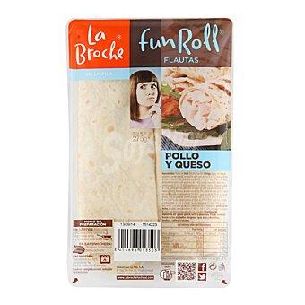 La Broche Flauta pollo/queso 260 g