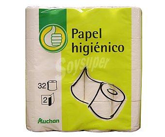 Productos Económicos Alcampo Papel higiénico Paquete de 32 unidades