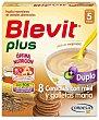 Blevit Plus Papilla 8 Cereales con Miel y Galleta 600 g Blevit