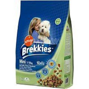Brekkies Affinity Comida para perros Dog rolls Mini 3 kg