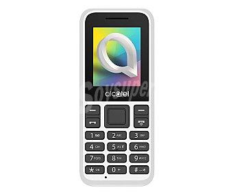 "Alcatel Teléfono móvil libre blanco, pantalla 4.57cm (1,8""), radiofm, Dual-Sim 1066D"