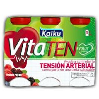 Kaiku Vitaten frutos rojos Pack 6x60 ml