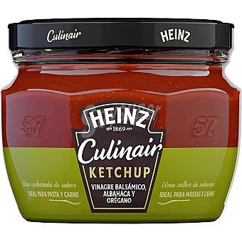 Heinz Ketchup Culinair con vinagre balsámico, albahaca y orégano 300 g