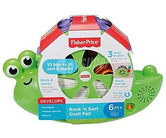 Fisher-Price Caracol formas y canciones, juguete con piezas encajables y sonidos price