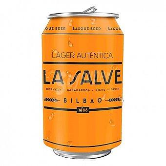 La salve Cerveza Lager Lata 33 cl
