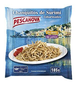 Pescanova Chanquitos congelados enharinados Paquete 185 g