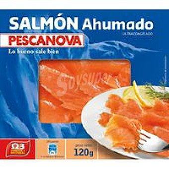 Pescanova Salmón ahumado Caja 120 g