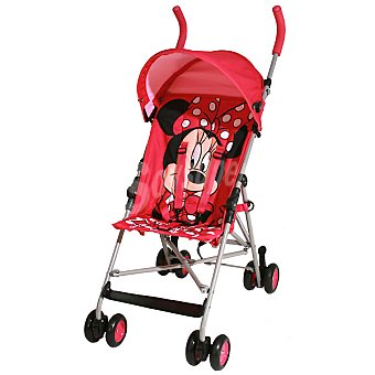 DISNEY Minnie silla de paseo fija en color rojo