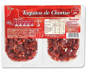 Auchan Taquitos de Chorizo 100 Gramos