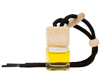 Paradise scents Ambientador coche limón en frasco colgante decorativo, cordón negro scents