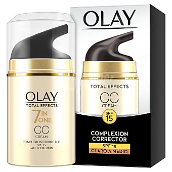 Olay Total Effects CC Cream 7 en 1 día SPF-15 anti-edad + color corrector  Dosificador 50 ml