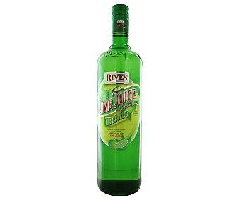 Rives Concentrado de lima sin alcohol Botella 1 litro
