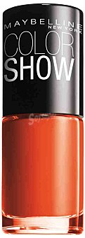 Maybelline New York Laca de uñas colorshow nº 341 orange attack 1 unidad