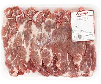 Chuletas de aguja de cerdo blanco, especiales para freir 700 gramos aproximados