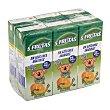 Nectar 5 frutas (platano, mandarina, naranja, manzana y uva) Pack de 6x200cc Hacendado