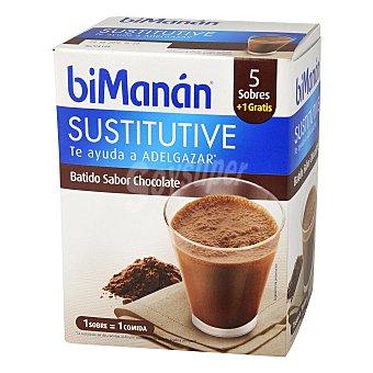 Bimanan Batido de chocolate Caja 5 unid