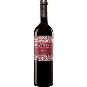 PEÑA DEL VALLE Vino tinto syrah de Extremadura Botella 75 cl
