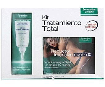 Somatoline Cosmetic Kit tramtamiento reductor intensivo Reductor Intensivo 450ml + Sérum zonas rebeldes 100ml