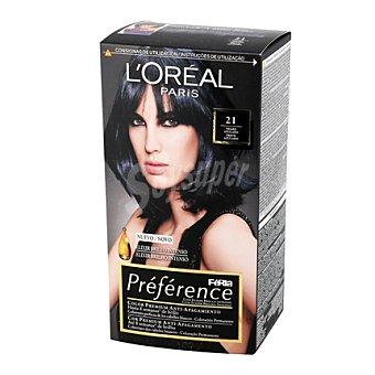Preference L'Oréal Paris Tinte nº 21 Deep Blue 1 ud
