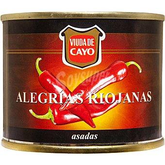 Viuda de Cayo Alegrias riojanas asadas Lata 70 g neto escurrido
