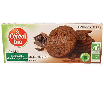 CEREAL BIO Galletas de chocolate negro intenso biológico 132 gramos