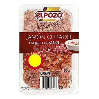 ElPozo Jamón taquitos mini 65 g