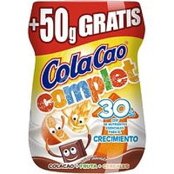 Cola Cao Cacao soluble Complet Bote 360+50 g