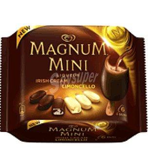 MAGNUM de FRIGO Helados Magnum Mini con licor Pack de 6x50 g