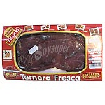 TEIXO Ternera hígado en filetes peso aproximado bandeja 350 g 3 unidades