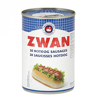 ZWAN Salchichas hot dog Lata 200 g neto escurrido