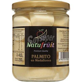 Corazon Tierno Medallones de palmito al natural especial para ensaladas Frasco 250 g neto escurrido