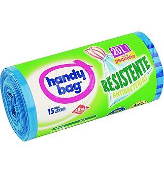 Handy Bag Bolsa de basura resistente 20 L 15 bolsas