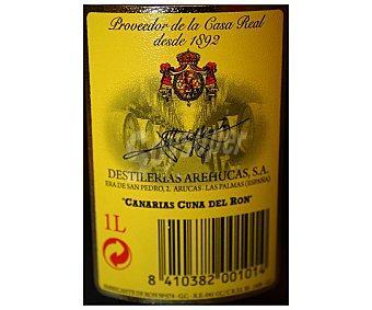 Arehucas Ron Oscuro Botella de 1 l