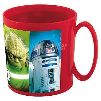 DISNEY Taza para microondas con dibujo de Star Wars 36 cl