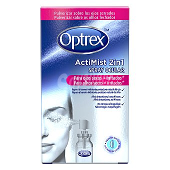 OPTREX Spray ocular para ojos secos e irritados Actimist 10 ml