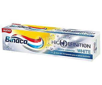 Binaca Pasta de dientes blanqueante sabor menta (hasta 3 veces más blanqueante para un efecto iluminador) 75 mililitros